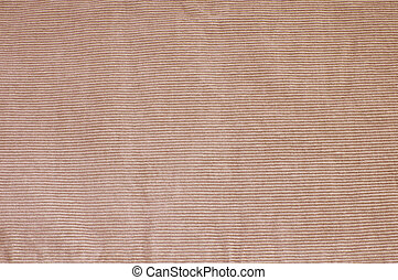 Corduroy fabric - Close up of corduroy fabric