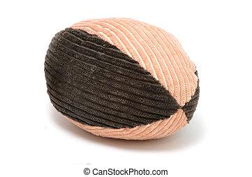Corduroy Football Pet Toy