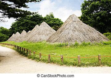 corea, Neolítico, sitios, sur