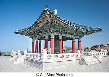 coreano, campana