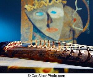 coreano, tradizionale, strumento