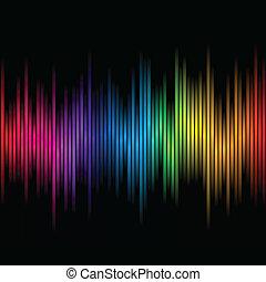 cores, arco íris, abstratos, 2