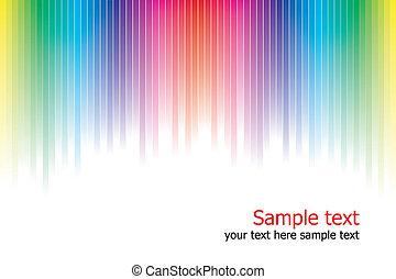 cores, arco íris, abstratos, fundo