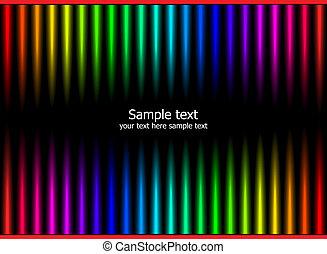 cores, arco íris, abstratos