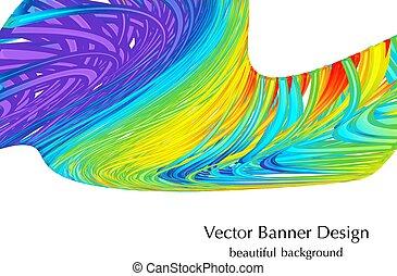 cores arco-íris, fundo