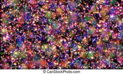 cores, estrelas