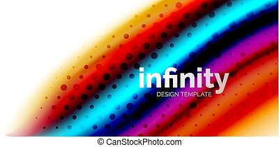 cores, vetorial, líquido, pontilhado, abstratos, fluido, onda, forma, fundo, fluir, misturado, 3d, textura