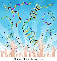 coriandoli, celebrazione