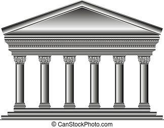 corinthian, 寺院