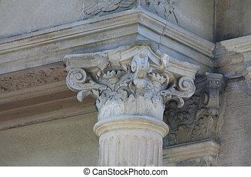 Corinthian capital detail