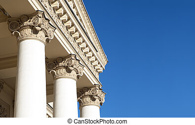 Corinthian Columns - Ornately decorated Corinthian columns....
