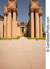 Corinthian Columns Palace of Fine Arts