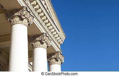 Corinthian Columns - Ornately decorated Corinthian columns....
