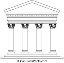 Corinthian temple