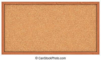 Cork board - A Corkboard (Bulletin Board) ready to get ...