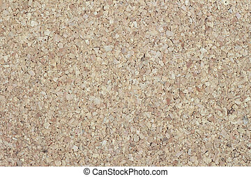 Cork-board background