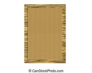 Cork Board - Cork board for pinning notes