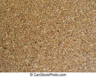 Cork board - Detail of a cork board