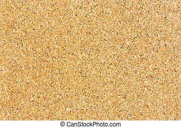 Cork board texture