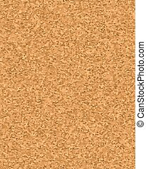 Cork board vector texture background. Realistic illustration...