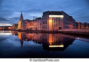 cork city reflection