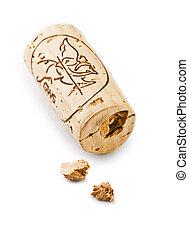 cork of wine bottle