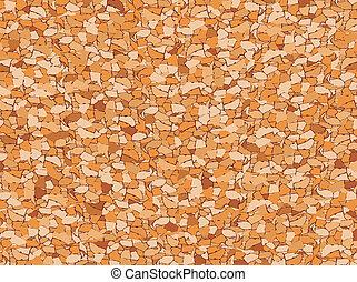 cork seamless pattern