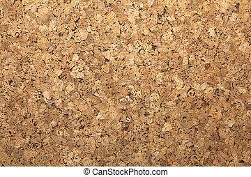 cork surface