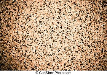 Cork texture with gradient