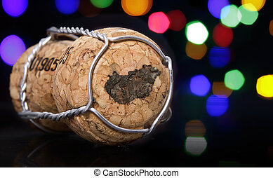 Cork with the shape of Hungary burnt in.(series)