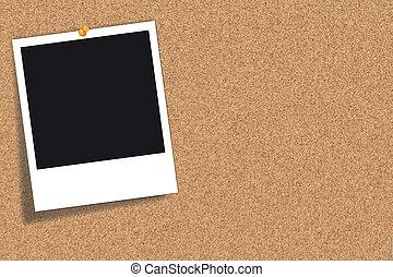 corkboard, planche, -, bulletin, pinboard