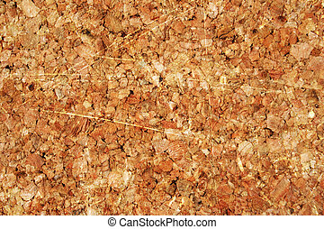 corkboard texture with some damage on it
