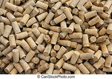Corks  - Background of wine corks.