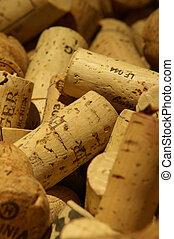 Corks - Winecorks Macroshot