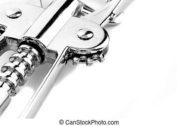 Corkscrew mechanism detail