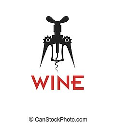corkscrew vector design template