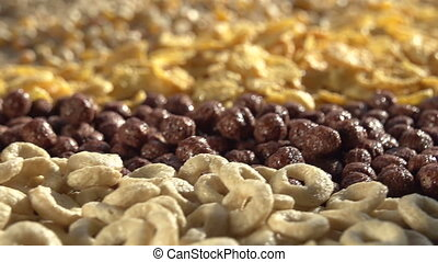 Corn and Wheat Flakes