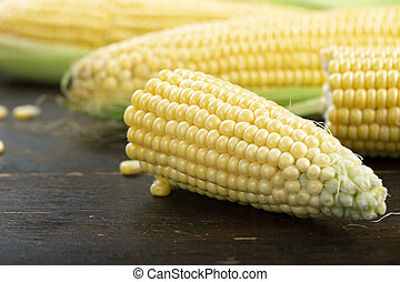 corn crop on the table