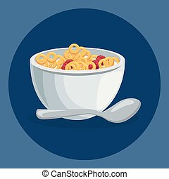 corn flakes delicious food breakfast menu