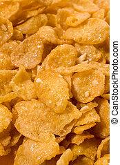 corn flakes detail photo,