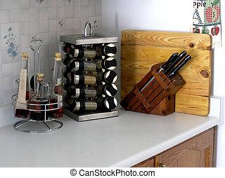 corner., 厨房