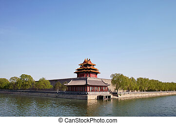 Forbidden City, Beijing, China - Corner Arrow Tower in...