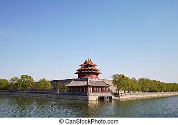 Forbidden City, Beijing, China - Corner Arrow Tower in...