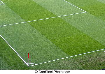Corner Flag on a football/soccer field