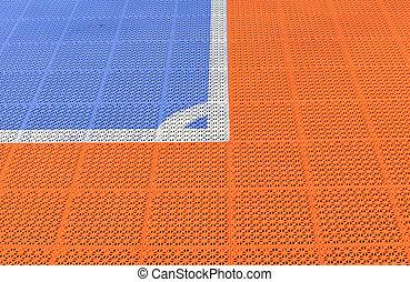 Corner Futsal field