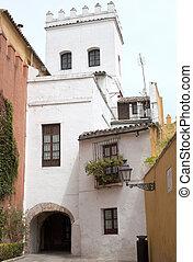 Corner in the jewish quarter