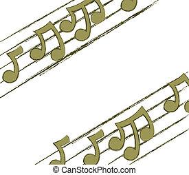 Corner Musical Notes
