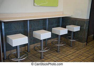 corner of a restaurant