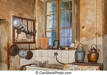 corner of an old kitchen