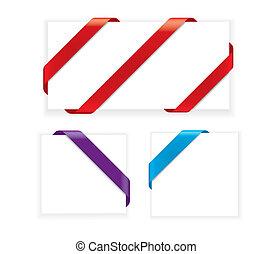 Corner Ribbons (vector)